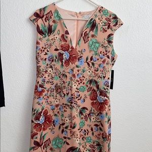 Zip Up floral dress from New York and Company